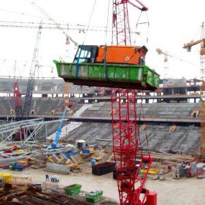 Kehrarbeiten Allianz Arena
