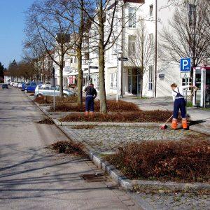Reinigung Parkplätze